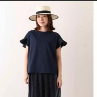 ドゥロワー(Drawer)のyori  コットンフレアスリーブ Tシャツ(Tシャツ(半袖/袖なし))