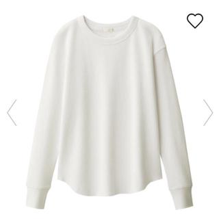 ジーユー(GU)のみんとちょこ様専用 ワッフルT(Tシャツ(長袖/七分))