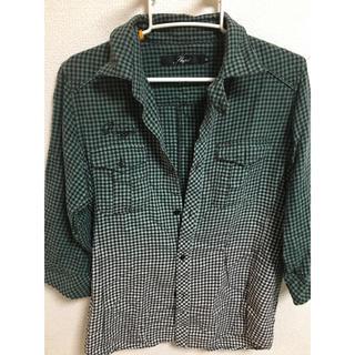 シャペル(Shapel)のシャペル【shapel】グラデーションシャツ(Tシャツ/カットソー(七分/長袖))