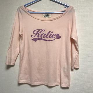 ケイティー(Katie)のKaite ロンT ベビーピンク(Tシャツ(長袖/七分))