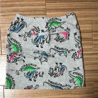 ダンスエルビーゼロスリー(DANCE LB-03)の[新品、タグ付き]DANCE  LB-03  恐竜柄ミニタイトスカート(ミニスカート)