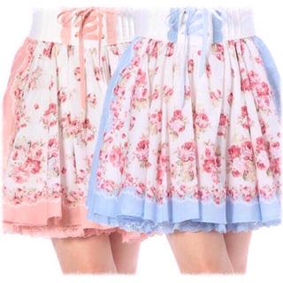 リズリサ(LIZ LISA)のバンダナ柄スカート(ひざ丈スカート)