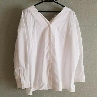 ニッセン(ニッセン)の大きいサイズ★オーバーサイズシャツ(シャツ/ブラウス(長袖/七分))