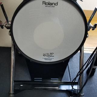 美品 Roland ローランド バスドラム V-Drums KD-120(バスドラム)