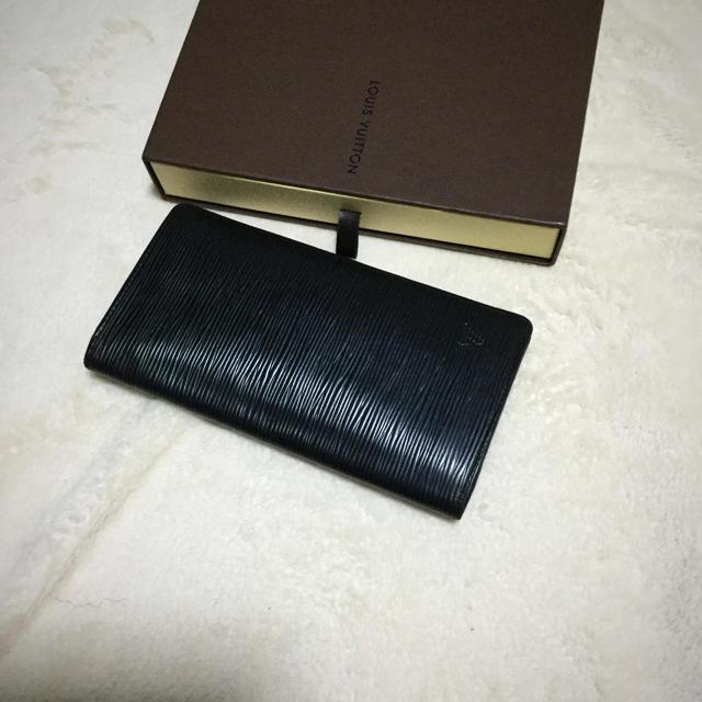 88bdae9f4bde LOUIS VUITTON(ルイヴィトン)の美品 ルイヴィトン ポルトフォイユ ブラザ エピ 黒 メンズ