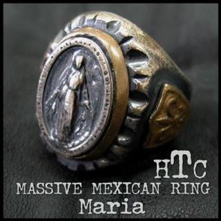 ハリウッドトレーディングカンパニー(HTC)のHTC エイチティーシー メキシカン リング マリア Maria Mexico(リング(指輪))