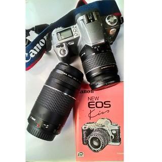 キヤノン(Canon)のaki様向けCanon NEW EOS kiss+Canon zoom lens(フィルムカメラ)