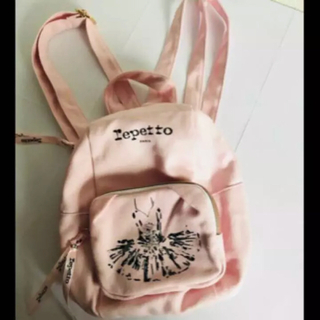 レペット(repetto)の新品未使用 レペット REPETTO キッズ用 リュックサック 女の子用バッグ(リュックサック)