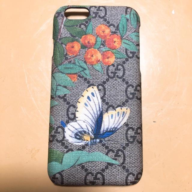 おしゃれ iphone7plus ケース シリコン | Gucci - GUCCI iPhone6ケースの通販 by yuka|グッチならラクマ