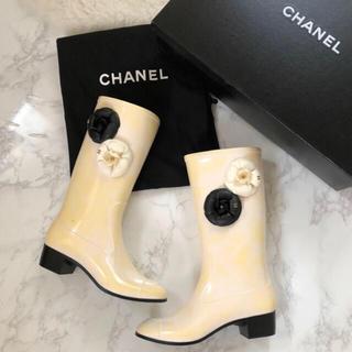 シャネル(CHANEL)の訳あり 新品未使用 CHANEL シャネル レインブーツ(レインブーツ/長靴)