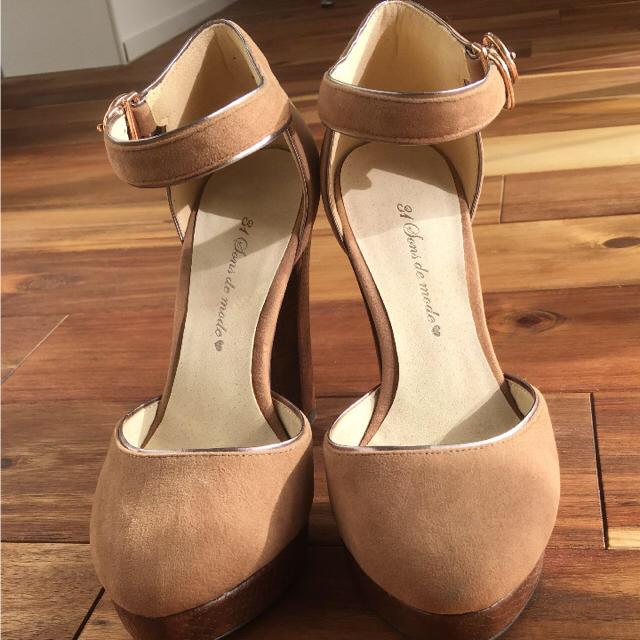 31 Sons de mode(トランテアンソンドゥモード)のトランテアン ソンドゥモード ベージュ レディースの靴/シューズ(ハイヒール/パンプス)の商品写真