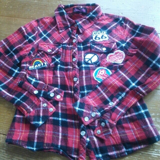 AVIRAPINKシャツ