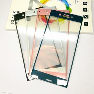 XPERIA XZ XZs 3D カラーガラスフィルム 全面保護(保護フィルム)