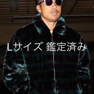 シュプリーム(Supreme)のLサイズ supreme faux fur bomber jacket(ブルゾン)