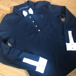 マークアンドロナ(MARK&LONA)のマークアンドロナ  タイ付き長袖ポロシャツ(ウエア)