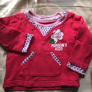 パーソンズキッズ(PERSON'S KIDS)の2   PERSON'S KIDS   95㎝(Tシャツ/カットソー)