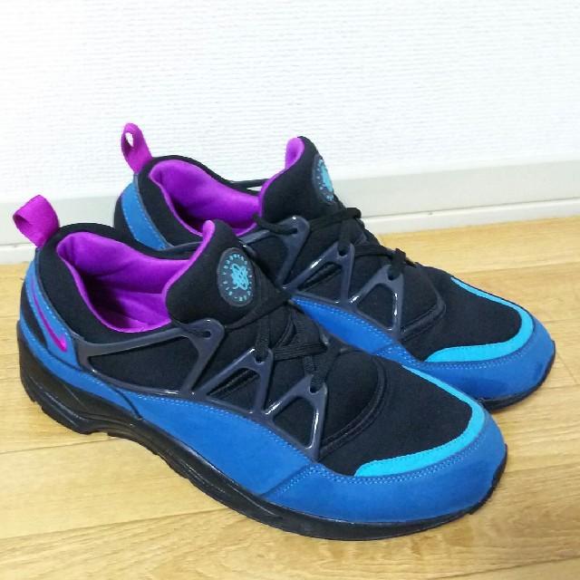 NIKE(ナイキ)のエアハラチライト ハラチ 28cm  NIKE ナイキ ブルー  パープル メンズの靴/シューズ(スニーカー)の商品写真