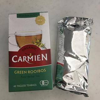 カルディ(KALDI)のCARMIEN(カーミエン) グリーンルイボスティー(茶)