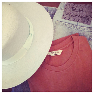 ロンハーマン(Ron Herman)のronherman 購入 アンソニーペト 麦藁帽子 ハット(麦わら帽子/ストローハット)