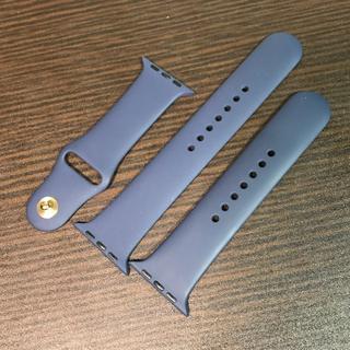 アップルウォッチ(Apple Watch)のかず様専用 Apple watch 純正 ミッドナイトブルー 42mm(腕時計(デジタル))