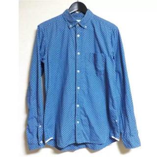 デラックス(DELUXE)のDELUXE デラックス ドット柄長袖シャツ wtaps(シャツ)