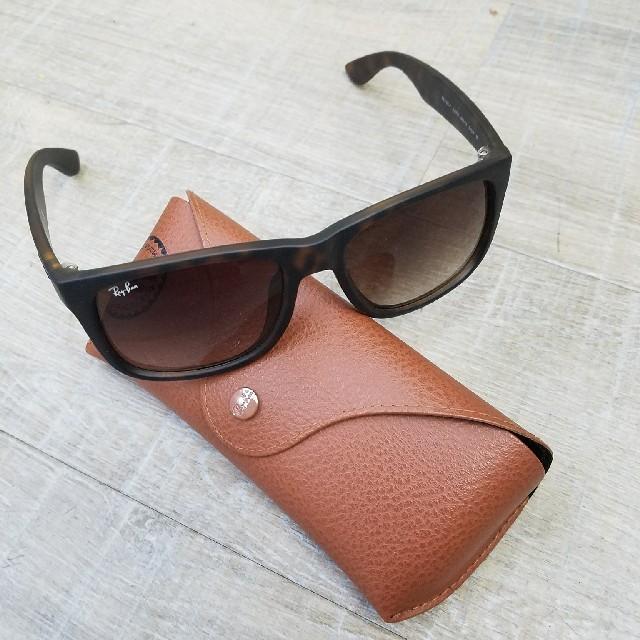 b4358ece7996cd Ray-Ban(レイバン)のレイバン サングラス ブラウン メンズ マット メンズのファッション小物
