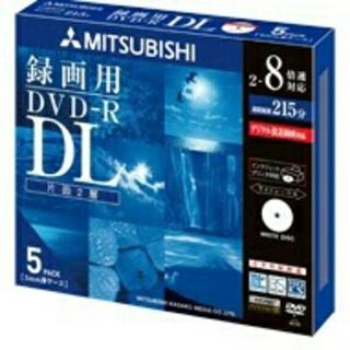 ミツビシ(三菱)のMIITSUBISHI 録画用DVD-R DL  5pack(その他)