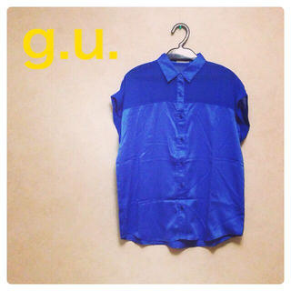 ジーユー(GU)の処分予定 シースルーシャツ(シャツ/ブラウス(半袖/袖なし))