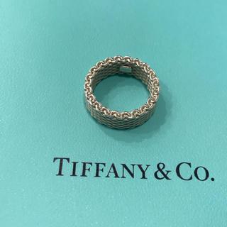 ティファニー(Tiffany & Co.)のティファニー サマセット メッシュリング(リング(指輪))