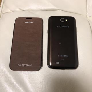 サムスン(SAMSUNG)の【最終値下げ】箱なし GALAXY NoteⅡ SC-02E ブラウン(スマートフォン本体)
