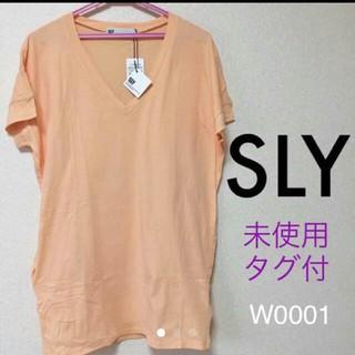 スライ(SLY)のスライ Tシャツワンピース これ以上の値下げありません。(Tシャツ(半袖/袖なし))