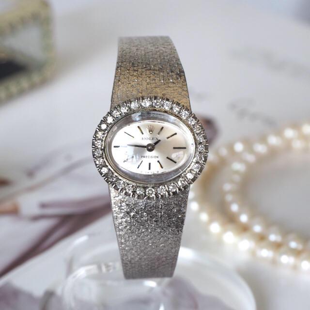 newest collection 41daf b120c 希少美品✨ロレックス 18金無垢 ダイヤベゼル時計✨カルティエ オメガ   フリマアプリ ラクマ