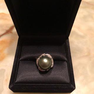黒真珠 指輪(リング(指輪))