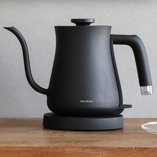 バルミューダ(BALMUDA)のモップ様専用!BALMUDA The Pot Black 電気ケトル(電気ケトル)