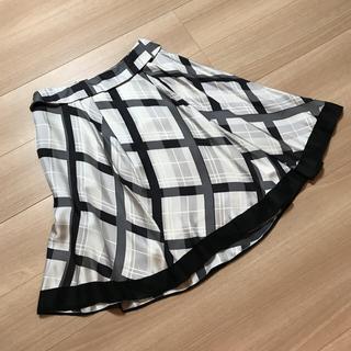 ルイヴィトン(LOUIS VUITTON)のルイヴィトン LOUIS VUITTON 総シルク 膝丈スカート(ひざ丈スカート)