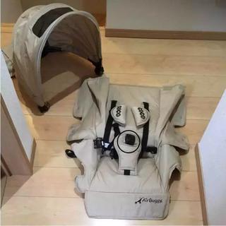 エアバギー(AIRBUGGY)のエアバギー 人気色 キャメル 着せ替え キャノピー&シート (ベビーカー/バギー)