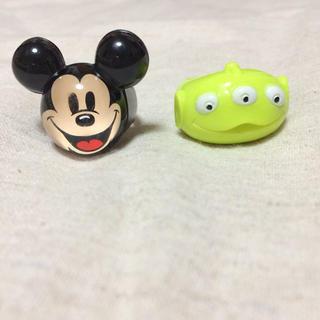 ディズニー(Disney)のミッキー♡グリーンメン✳︎指輪(リング(指輪))