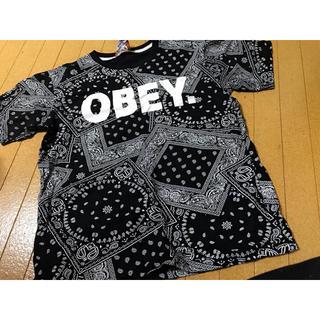 ダダ(DADA)のOBEY ビッグTシャツ(Tシャツ(半袖/袖なし))