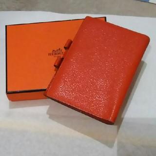 エルメス(Hermes)のエルメス 手帳ケース エルメスオレンジ(その他)