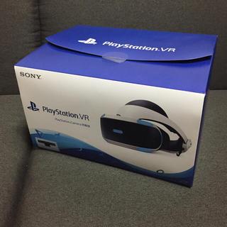 プレイステーションヴィーアール(PlayStation VR)のpsvr 新型 PlayStation Camera同梱版 使用1.2回程度(家庭用ゲーム機本体)