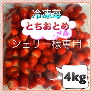 冷凍いちご シェリー様専用(フルーツ)