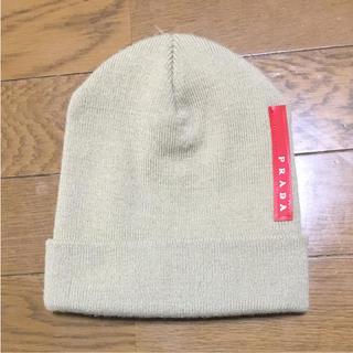 プラダ(PRADA)のプラダ ニット帽(ニット帽/ビーニー)