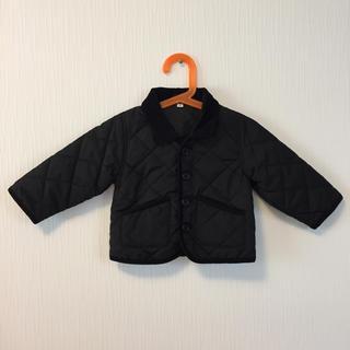 ムジルシリョウヒン(MUJI (無印良品))の美品 ベビー アウター ジャケット 無印良品 80(ジャケット/コート)
