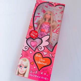 バービー(Barbie)のBarbie人形❤️バレンタインバービー (ぬいぐるみ/人形)