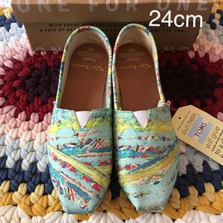 トムズ(TOMS)の【新品】TOMS Women's shoes /US7-JP24cm(スニーカー)