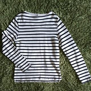 ムジルシリョウヒン(MUJI (無印良品))のメンズM★ボーダーカットソー(Tシャツ/カットソー(七分/長袖))