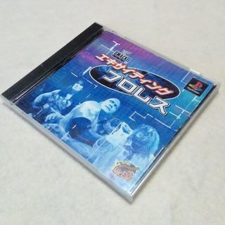 プレイステーション(PlayStation)の【PS】 エキサイティングプロレス ユークス 動作確認済 第1作 WWE(家庭用ゲームソフト)