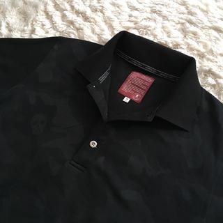 マークアンドロナ(MARK&LONA)のマークアンドロナ メンズ ポロシャツ ブラック(ウエア)