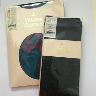 ヴィヴィアンウエストウッド(Vivienne Westwood)のビビアン・ウエストウッド レッグウェア2点セット(タイツ/ストッキング)