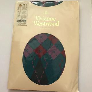 ヴィヴィアンウエストウッド(Vivienne Westwood)のビビアン・ウエストウッド 柄タイツ(タイツ/ストッキング)